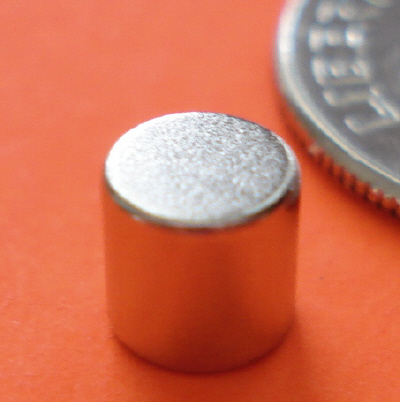 N52 Neodymium Rare Earth Magnets 3/16 in x 3/16 in Cylinder