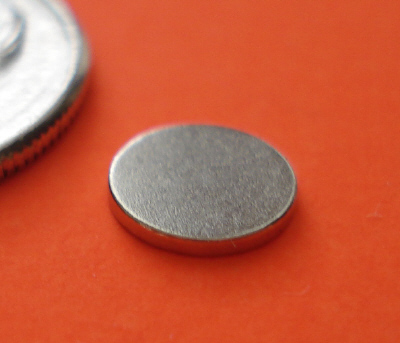 Neodymium Disc Magnets 1/4 in x 1/32 in N42