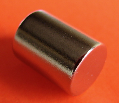 Neodymium Magnets 3/8 in x 1/2 in Rare Earth Cylinder
