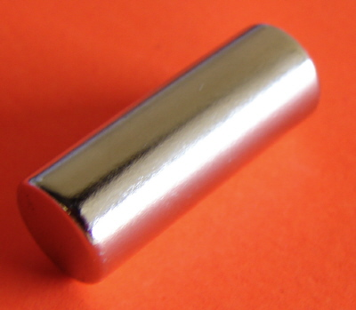 Rare Earth Magnets 3/8 in x 1 in Neodymium Cylinder N42