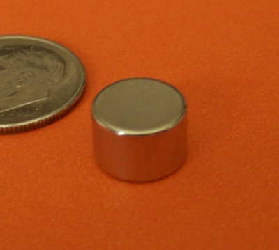 N52 Neodymium Magnets 3/8 in x 1/4 in Rare Earth Disc