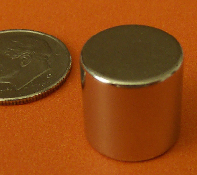 N50 1/2 in x 1/2 in Rare Earth Neodymium Magnets