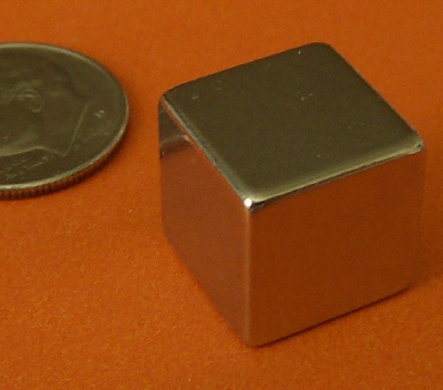 Neodymium Cube Magnets 1/2 inch Rare Earth N42