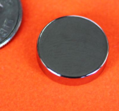 Neodymium Magnets Disc 1/2 in x 1/8 in Rare Earth Craft Magnets N42