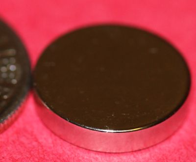 Rare Earth Magnets 1/2 in x 1/10 in Bottle Cap Magnet Neodymium Disc