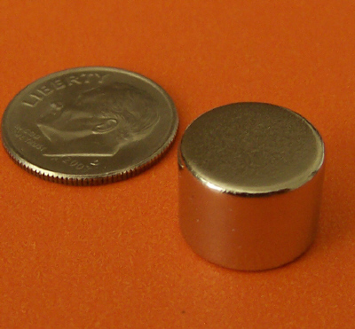 Neodymium Magnets N52 1/2 in x 3/8 in Rare Earth Disc