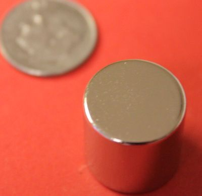 N45 Neodymium Magnets 5/8 in x 5/8 in Rare Earth Cylinder