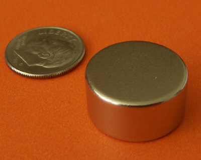 N52 Neodymium Magnets 3/4 in x 3/8 in Rare Earth Disc