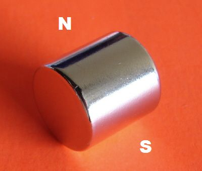 Neodymium Magnets Diametrically Magnetized 3/4 in x 3/4 in Cylinder