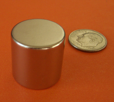 Neodymium Magnets 3/4 in x 3/4 in Rare Earth Cylinder N42