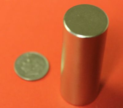 Neodymium Magnets 3/4 in x 2 in Rare Earth Cylinder