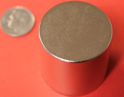 Rare Earth Magnets 1.25 in x 1.25 in Neodymium Cylinder N42