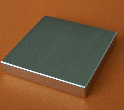 N45 Neodymium Magnets 1.5 in x 1.5 in x 1/4 in Rectangular Block