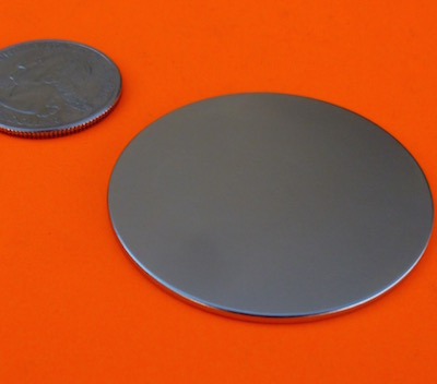N52 Strong Neodymium Magnets 1.75 in x 1/16 in Disc