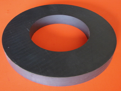 Ceramic Magnets 180mm OD x 95mm ID x 20mm Ring