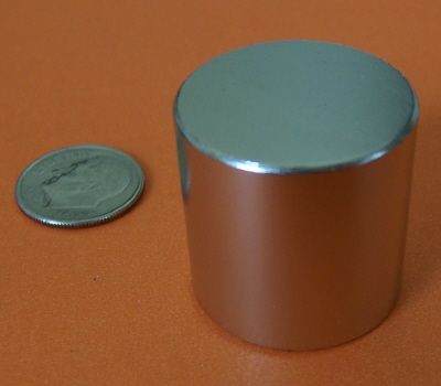 Neodymium Magnets N50 1 in x 1 in Super Strong Cylinder