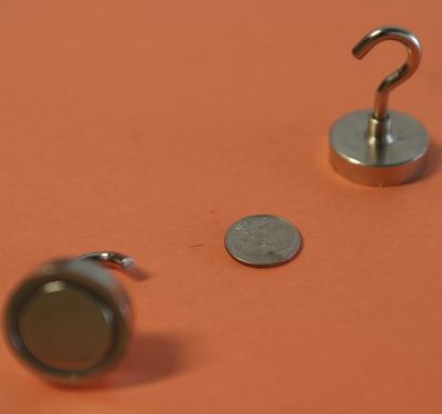 Magnetic Hooks Neodymium Hook Magnets 1 inch