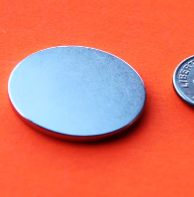 N45 Neodymium Magnets 1 in x 1/16 in Disks