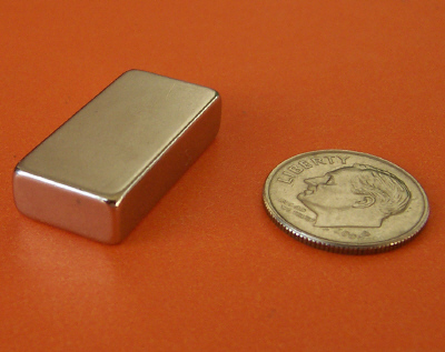 Neodymium Bar Magnets 1 in x 1/2 in x 1/4 in