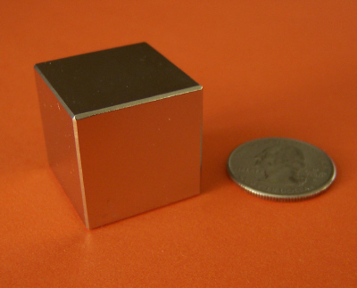 N52 Rare Earth Magnets Neodymium 1 inch Cube