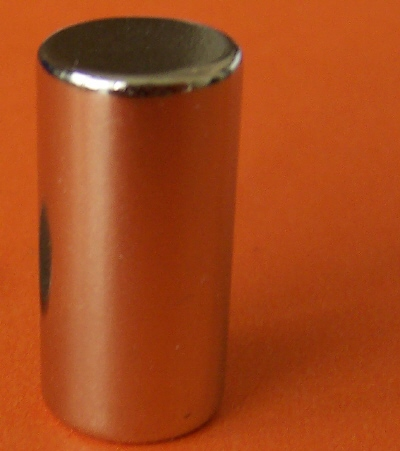 Neodymium Magnets 1 in x 2 in Super Strong Cylinder N42