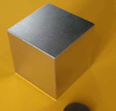 Rare Earth Magnets 2 inch Neodymium Cube N42