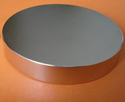 N50 Neodymium Magnets 4 in x 1/2 in Rare Earth Disks