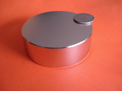 N48 Neodymium Rare Earth 3 in x 1 in Disc Magnets
