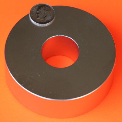Neodymium Ring Magnets N45 3 in OD x 1.25 in ID x 1 in