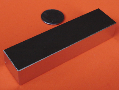 N52 Neodymium Magnets Block 4 in x 1 in x 1/2 in