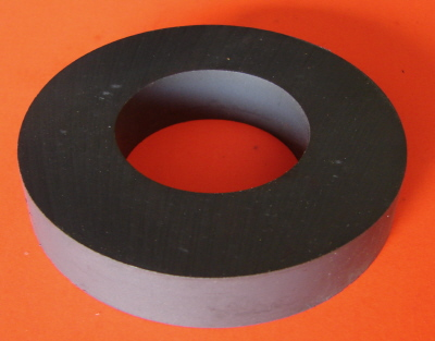 Ceramic Magnet Ring 60mm OD x 25mm ID x 8mm
