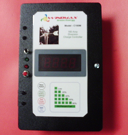 160 Amp 3600W w/Meter Solar/Wind Diversion Charge Controller