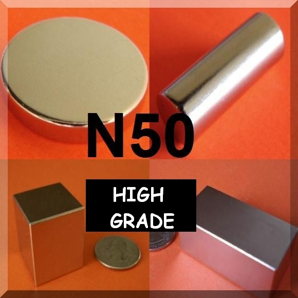 N48-N52 Strongest Rare Earth Magnets