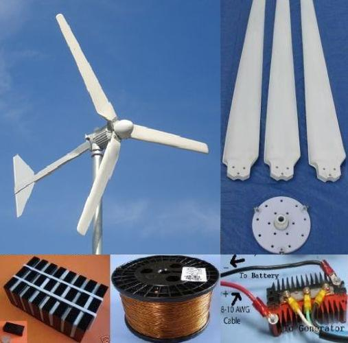 Home Wind Turbine DIY Starter Kits