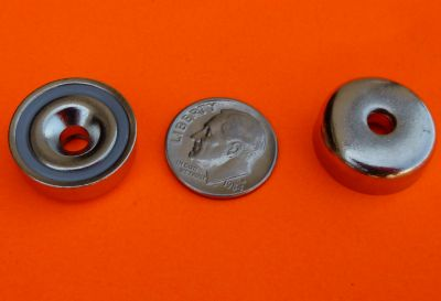 Magnetic Cups 3/4 inch Strong Neodymium Cup Magnets