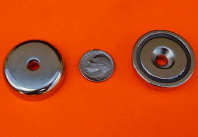 Magnetic Cups 1.26 inch w/Strong Neodymium Magnets 90 lbs