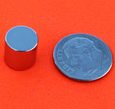 Neodymium Magnets 3/8 in x 3/8 in Rare Earth Cylinder N42