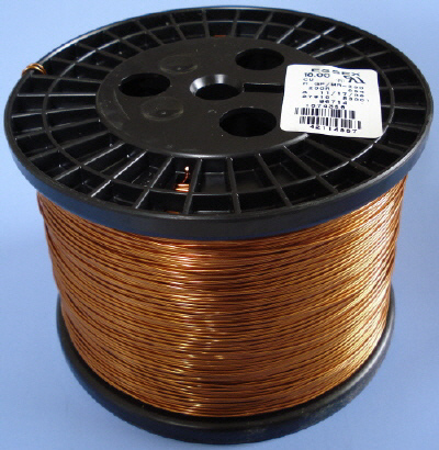 Magnet Wire 18 AWG Gauge Enameled 7LBS average