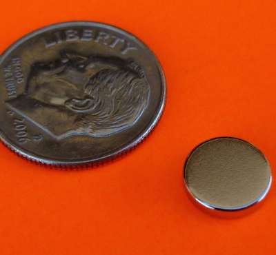 N52 Neodymium Rare Earth Magnet 5/16 in x 1/16 in Disc