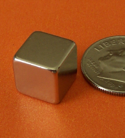Neodymium Cube Magnets 3/8 inch Rare Earth N42
