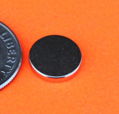 Neodymium Rare Earth Magnets 3/8 in x 1/16 in for Bottle Cap