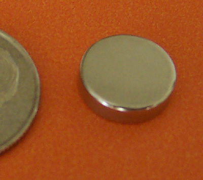 Neodymium Magnets 3/8 in x 1/10 in Rare Earth Disc N42