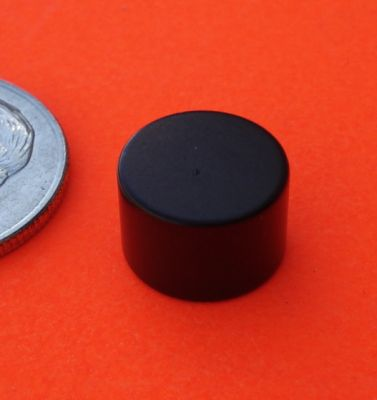 Rare Earth Magnets Epoxy-Cu-Ni 3/8 in x 1/4 in Neodymium Disc