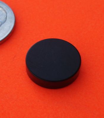 N45 Neodymium Magnets Epoxy-Cu-Ni 1/2 in x 1/8 in Disc