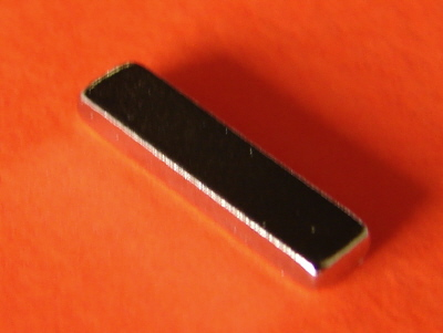 Neodymium Magnets N42 Bar 1/2 in x 1/8 in x 1/16 in