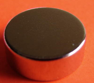 Rare Earth Disk Magnets 1/2 in x 0.2 in Neodymium