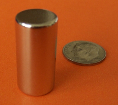Neodymium Magnets N50 1/2 in x 1 in Rare Earth Cylinder