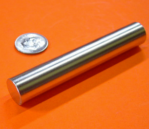 Rare Earth Magnets 1/2 in x 3 in Cylinder Neodymium N42