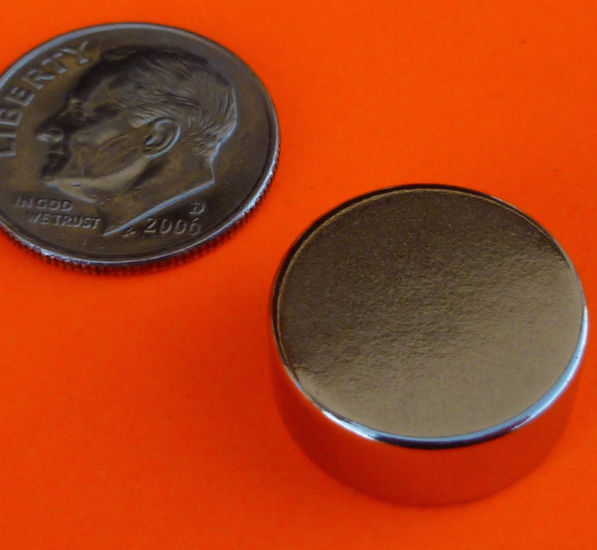 N52 Super Strong Neodymium Magnets 5/8 in x 1/4 in Disc