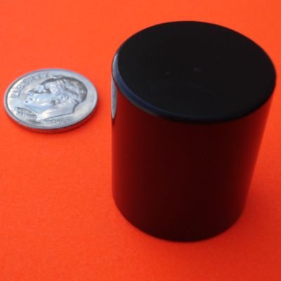 Neodymium Cylinder Magnets 7/8 in x 1 in Epoxy/Ni Rare Earth N42
